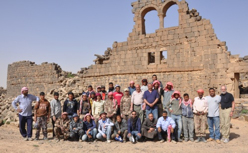 The Umm el-Jimal House XVII-XVIII Preservation Team